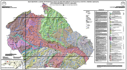 Funding Cut For Western North Carolina Landslide Hazard