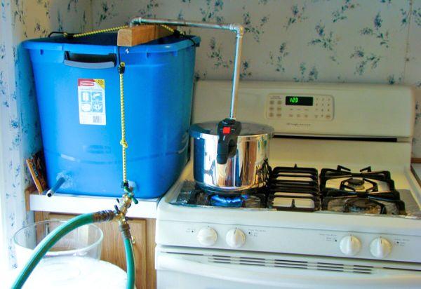 ... Condenser Reflux Still Plans. on homemade water still plans